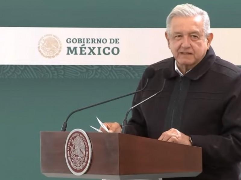 AMLO supervisa obra del Tren Interurbano México-Toluca en Ocoyoacac