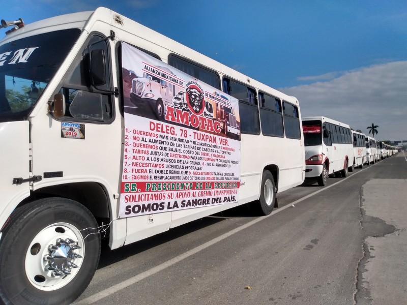 AMOTAC Tuxpan se une al paro nacional