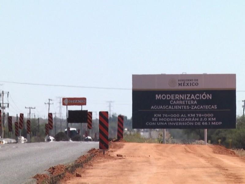 Ampliación de carretera a Aguascalientes comenzará en noviembre
