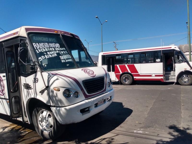 Ampliación de contingencia sanitaria golpea economía de transportistas locales
