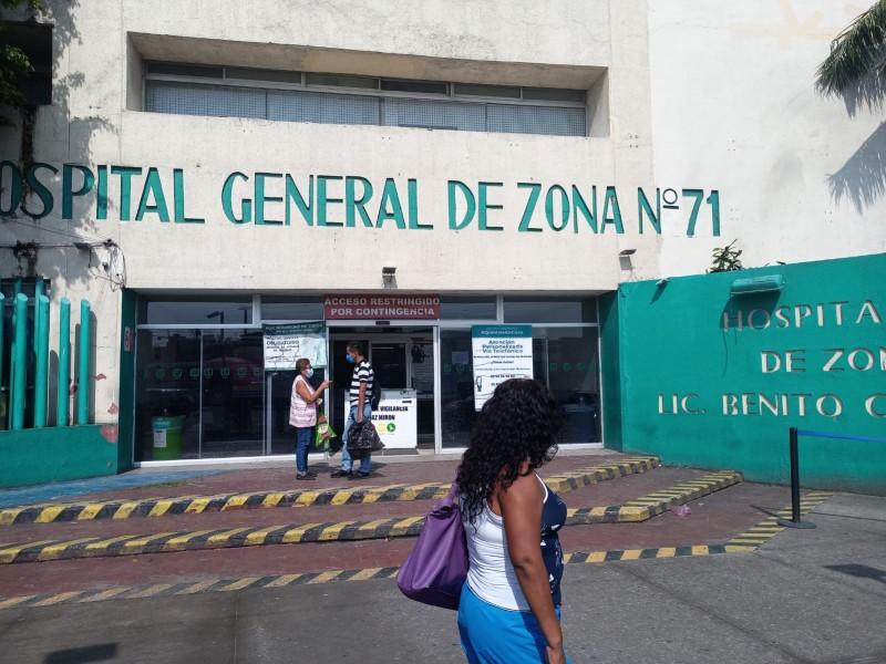 Ampliarán área Covid_19 en IMSS de Veracruz
