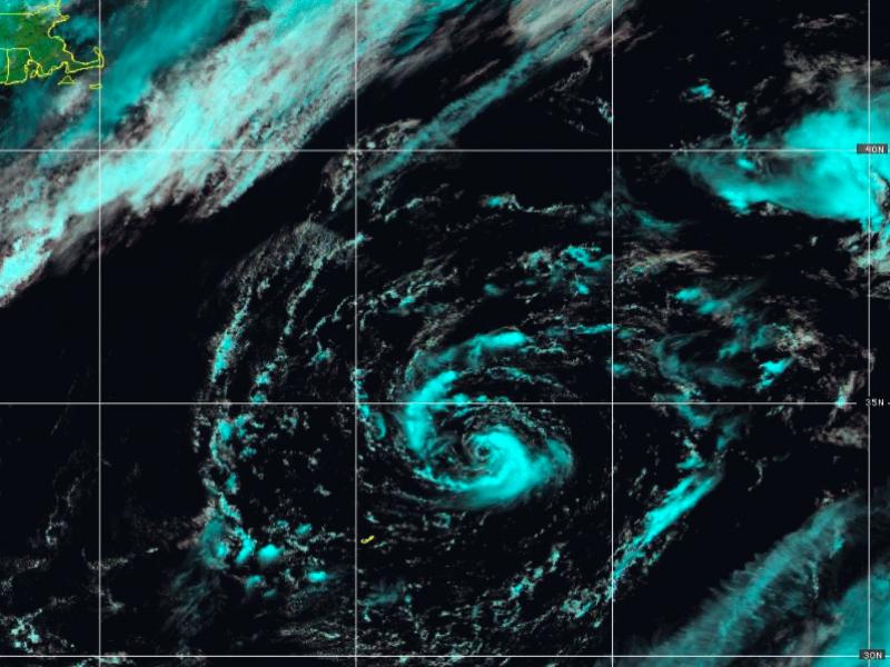 Ana, la primer tormenta subtropical del Atlántico