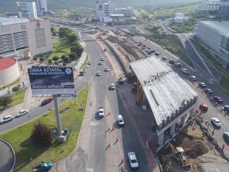 Analizarán construcción de viaducto elevado en Querétaro