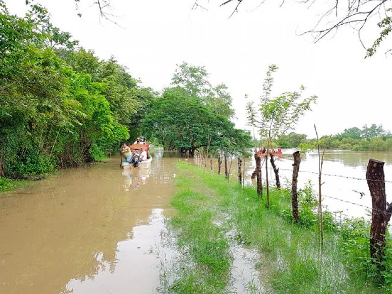 Analizarán niveles de riesgo del rio Tempoal