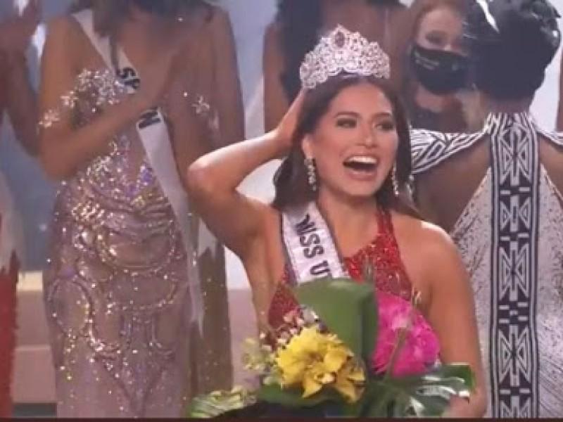 Andrea Meza, gana Miss Universo 2021