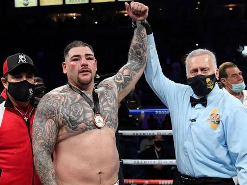 Andy Ruiz vino de menos a más para conseguir victoria