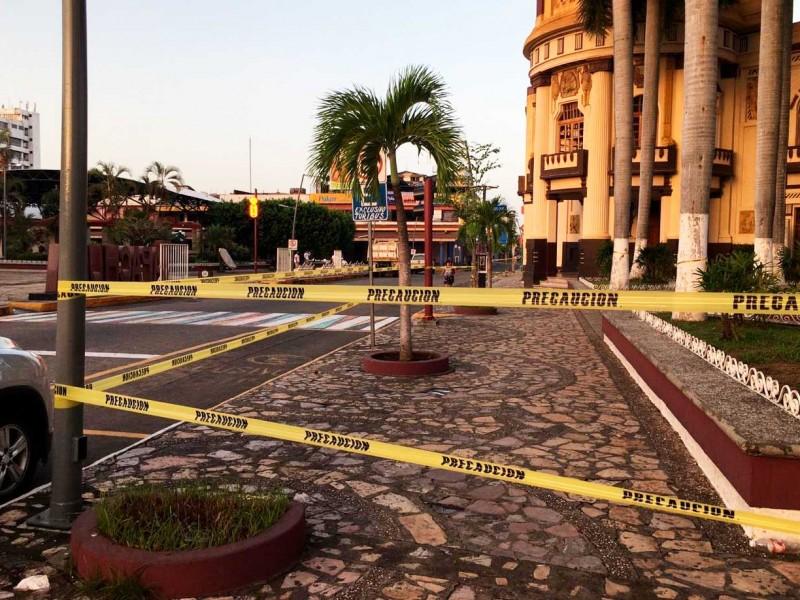 Ante aglomeraciones cierran parques de Tapachula