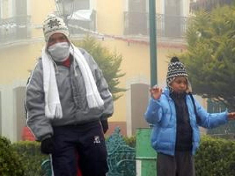 Ante bajas temperaturas piden reforzar cuidados