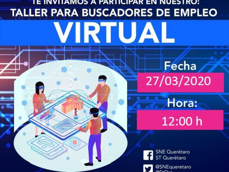 Ante contingencia la Secretaría del Trabajo abre talleres virtuales