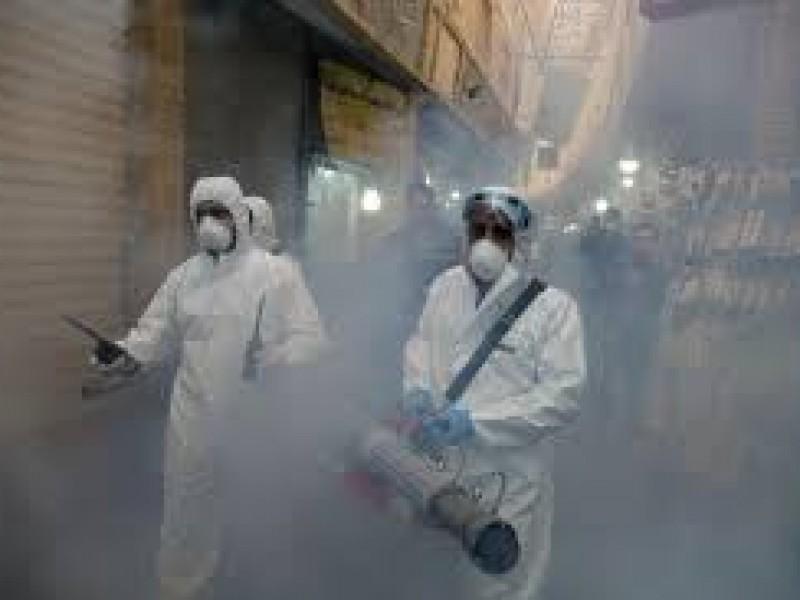 Ante Covid-19, OMS advierte que fumigar calles no es útil
