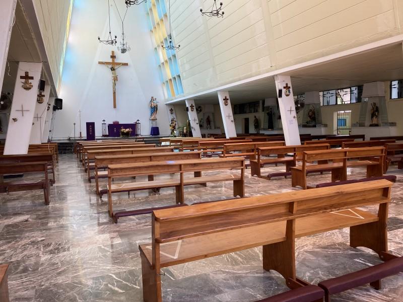 Ante covid, así se adaptará iglesia para celebrar Semana Santa