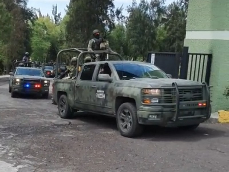 Ante ola de violencia, arriban a Zamora mil 500 efectivos
