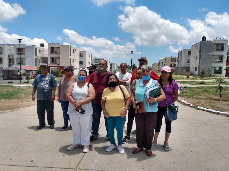 Ante pandemia, exigen agua potable en Valle de los Molinos