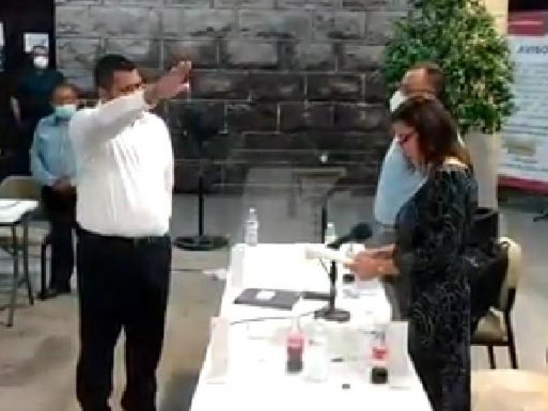 Antonio Demarco Pérez  es nuevo Contralor Municipal de Guaymas