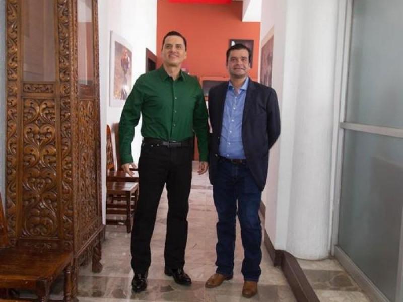 Antonio Echevarría García evitó hablar de Roberto Sandoval