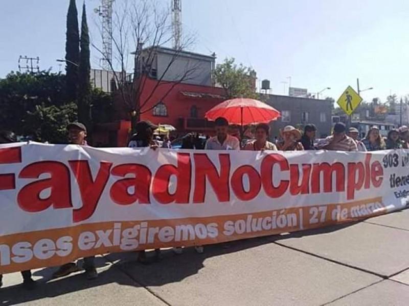 Antorcha Campesina pidió juicio político contra gobernador Hidalguense