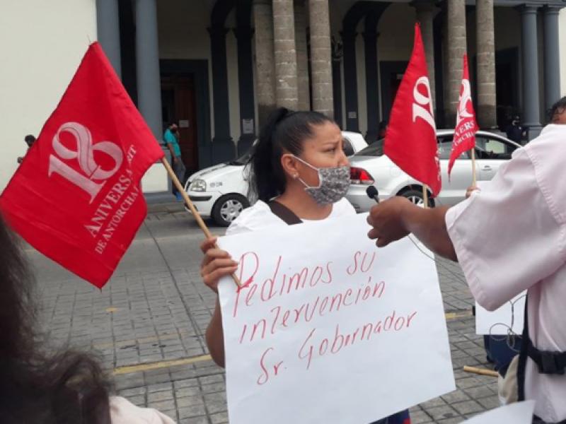 Antorcha Campesina se manifiesta por temor a desalojos en BADEBA