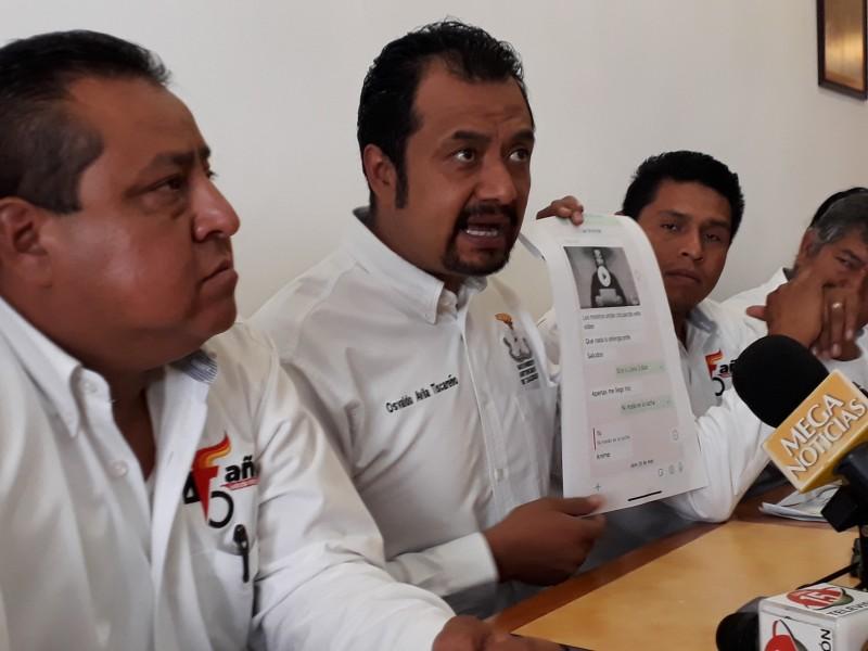Antorchistas acusan persecución política por alcalde guadalupense
