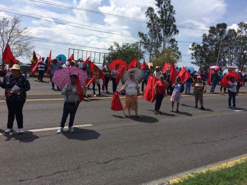 Anuncia antorcha campesina una serie de manifestaciones