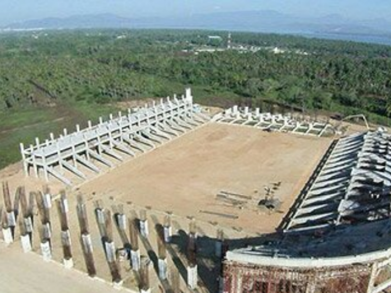 Anuncia Dr. Enríquez construcción de nuevo estadio de fútbol