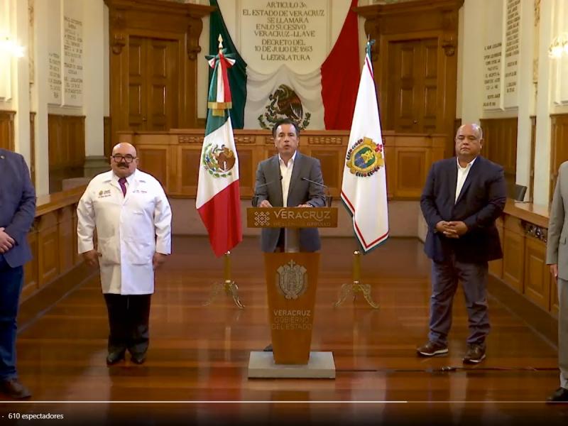 Anuncia gobernador de Veracruz, Fondo de Estabilización de Ingresos