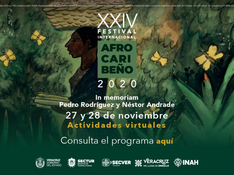 Anuncia IVEC Festival Afrocaribeño en modalidad virtual