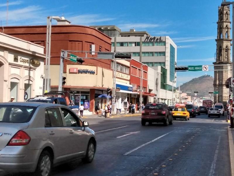 Anuncia Movilidad cierre de estacionamientos en centro histórico