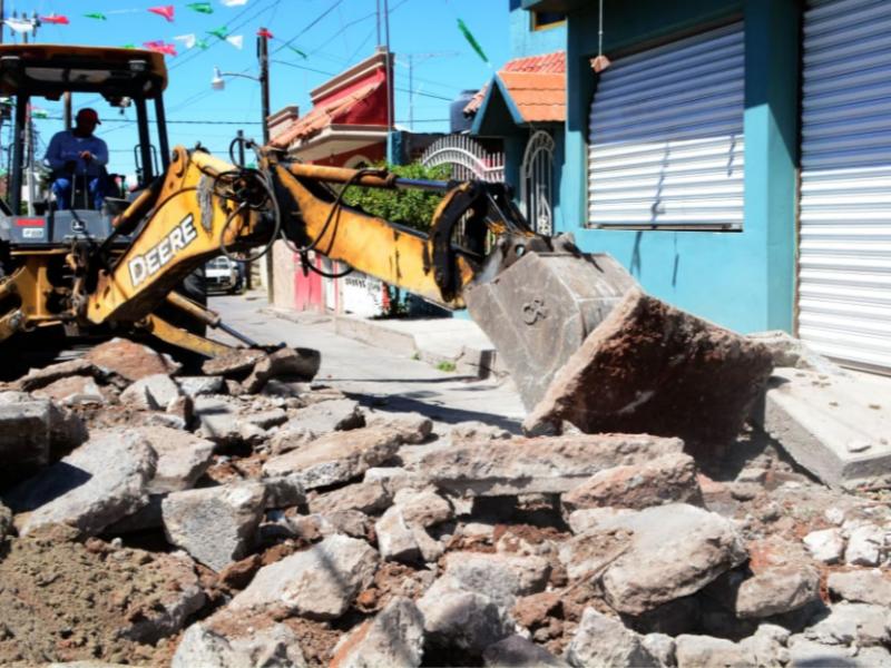 Anuncian 33 millones de pesos en obra pública