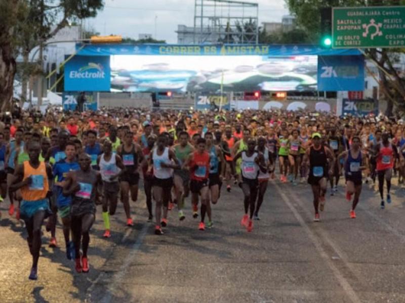 Anuncian atletas rankeados para 21K Guadalajara