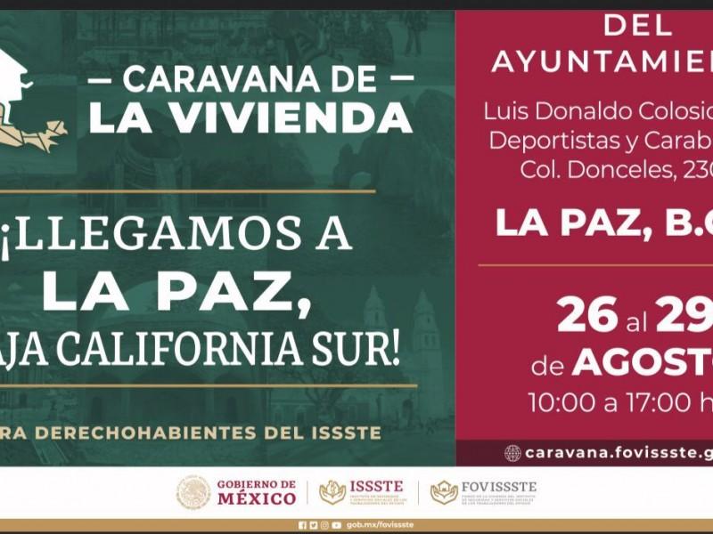Anuncian Caravana de la Vivienda en La Paz