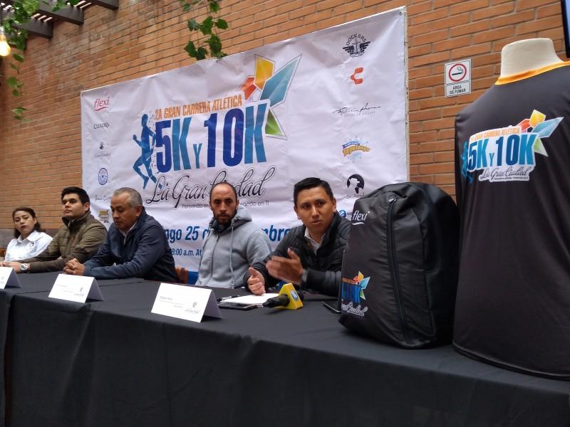 Anuncian carrera atlética en Atlacomulco
