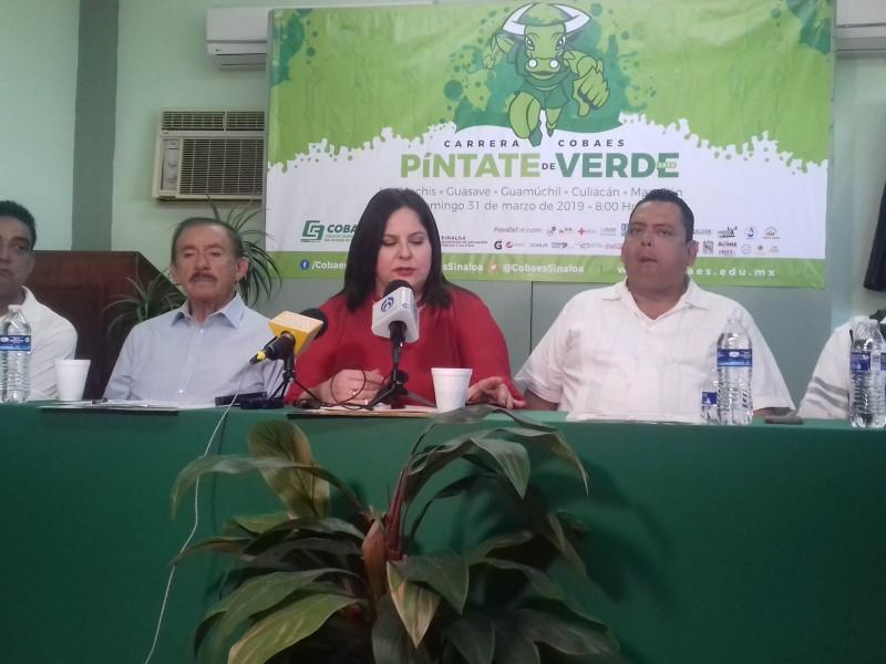 Anuncian carrera Cobaes 'Píntate de Verde'