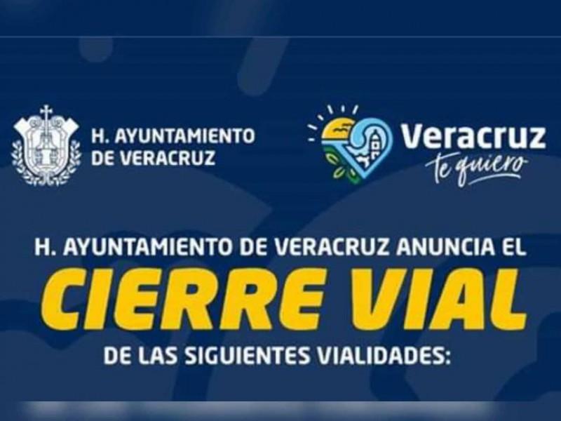 Anuncian cierres viales por Día del Padre en Veracruz