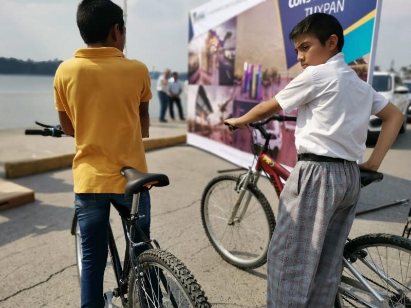 Anuncian construcción de ciclopista en Tuxpan