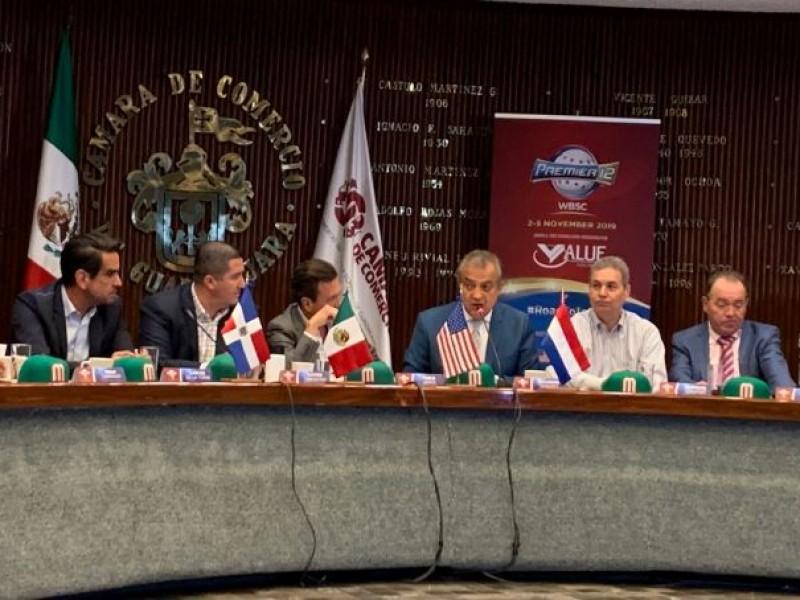 Anuncian detalles para el Premier 12 en Jalisco
