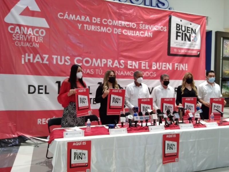 Anuncian doceava edición del Buen Fin en Culiacán