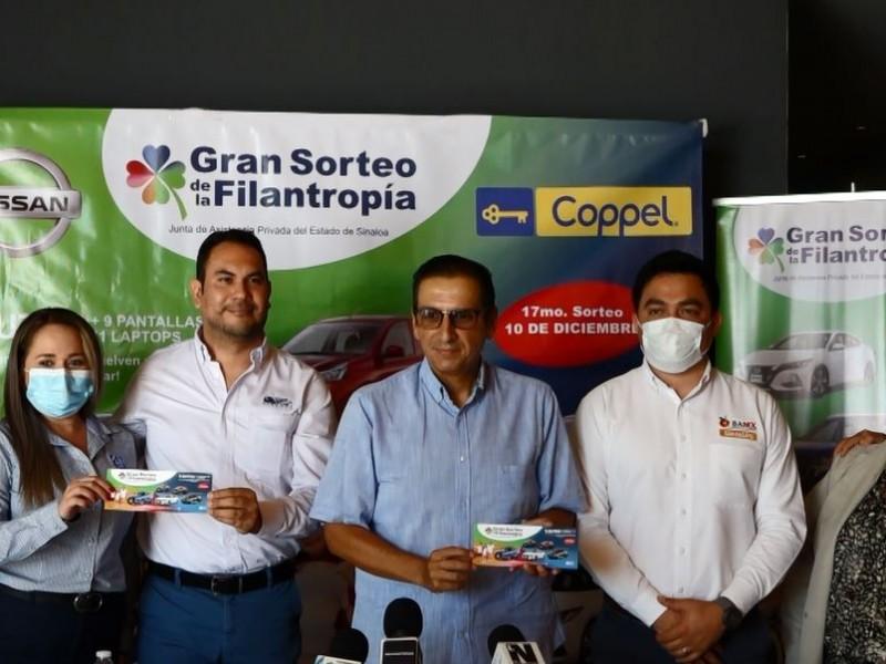 ANUNCIAN EL GRAN SORTEO DE LA FILANTROPÍA
