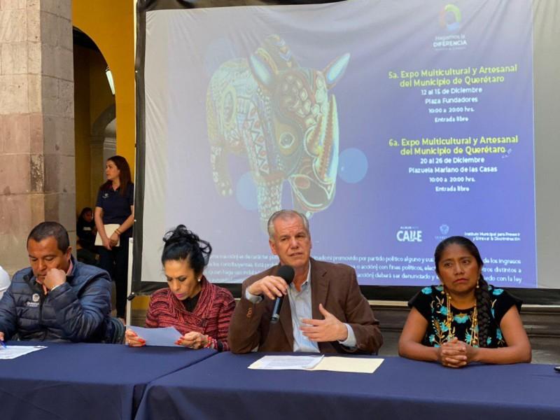 Anuncian Expo Multicultural y Artesanal