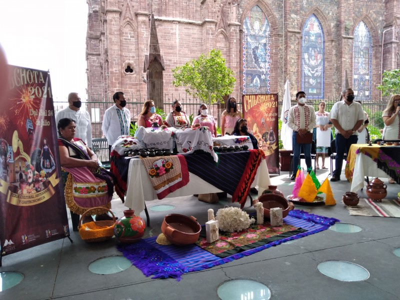 Anuncian feria cultural, artesanal y gastronómica Chilchota 2021