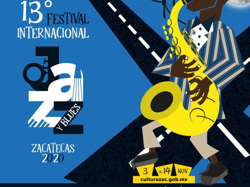 Anuncian Festival de Jazz y Blues Zacatecas 2020