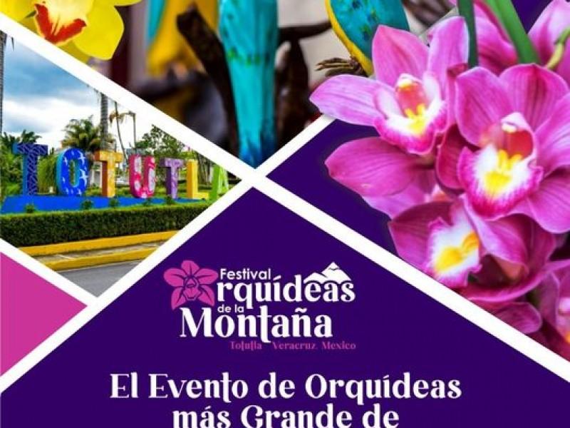 Anuncian Festival Orquídeas de la Montaña en Totutla