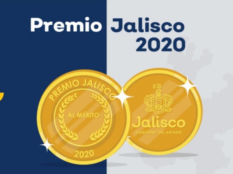 Anuncian ganadores del Premio Jalisco 2020
