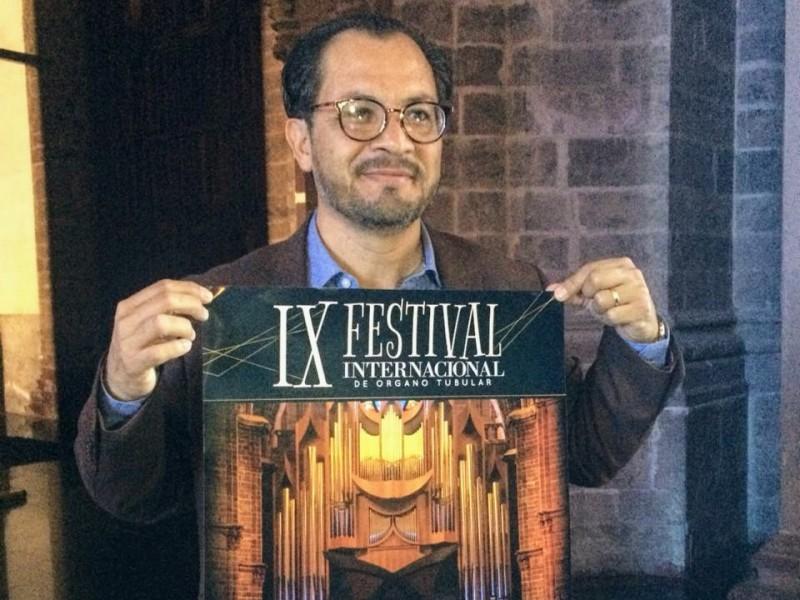 Anuncian IX festival de órgano tubular en Zamora