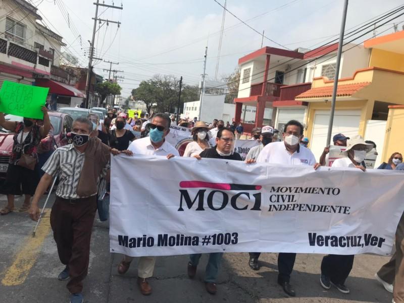 Anuncian marcha contra Grupo Mas para este lunes en Veracruz