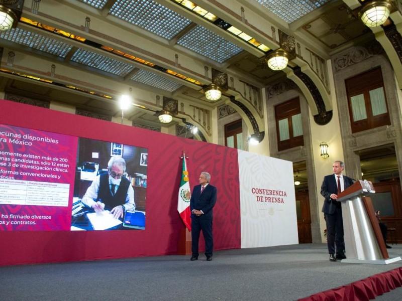 Anuncian plan de vacunación para México 2020-2021
