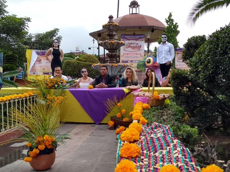 Anuncian primer festival de cempasúchil en Santiago Tangamandapio