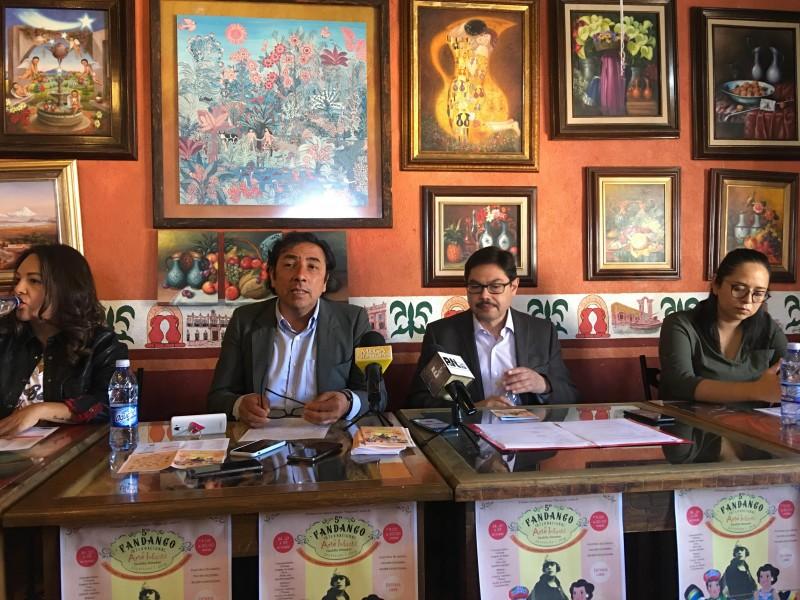Anuncian programa del quinto fandango internacional