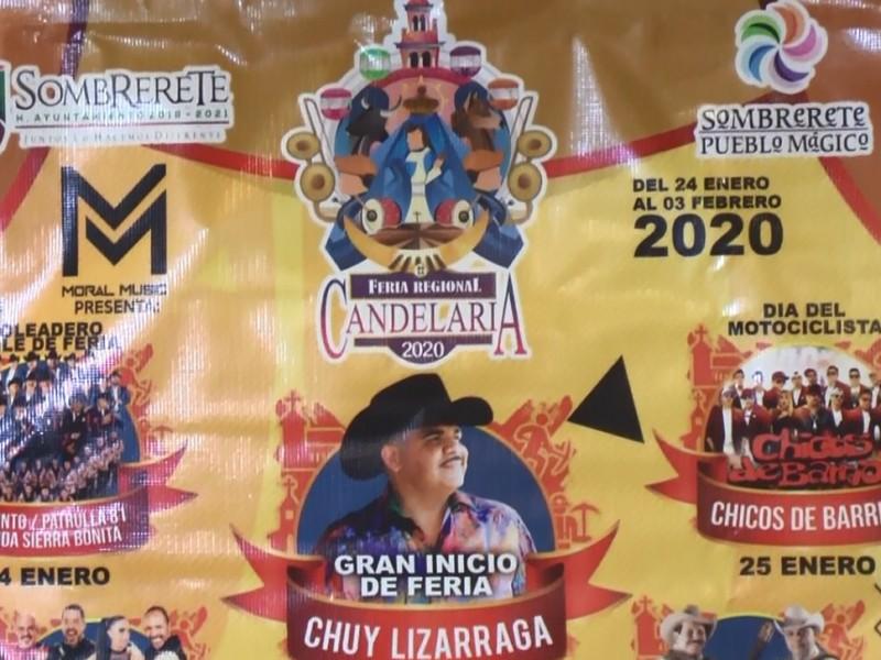 Anuncian programa para Feria de la Candelaria