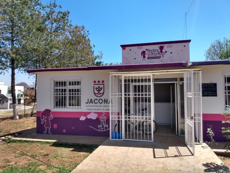 Anuncian próxima apertura de estancia infantil en Jacona