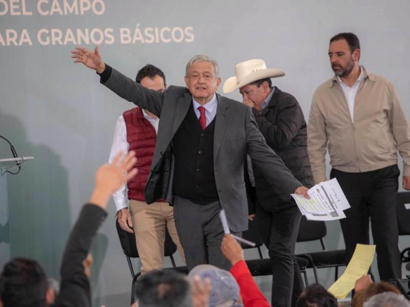 Anuncian próxima visita de AMLO a Zacatecas